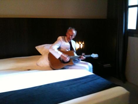 Turista Optimista en hotel Caro